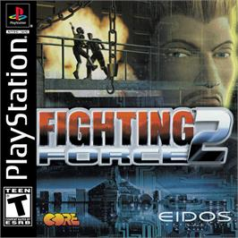 Box cover for Fighting Force 2 on the Sony Playstation.