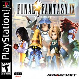 Box cover for Final Fantasy IX on the Sony Playstation.