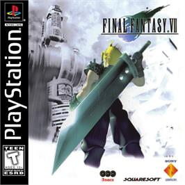 Box cover for Final Fantasy VII on the Sony Playstation.