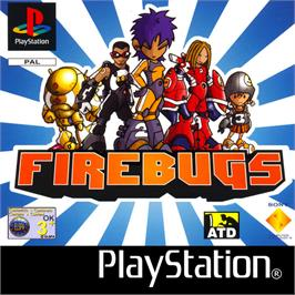 Box cover for Firebugs on the Sony Playstation.