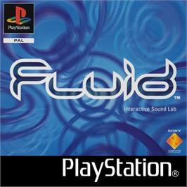 Box cover for Fluid on the Sony Playstation.