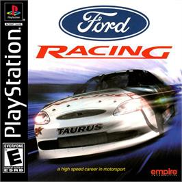 Box cover for Ford Racing on the Sony Playstation.