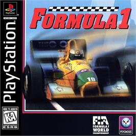 Box cover for Formula 1 on the Sony Playstation.