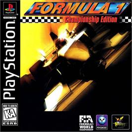 Box cover for Formula 1 Championship Edition on the Sony Playstation.