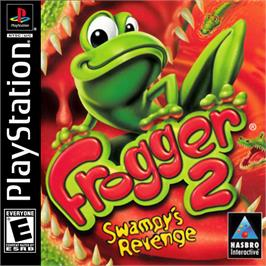Box cover for Frogger 2: Swampy's Revenge on the Sony Playstation.