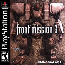 Box cover for Front Mission 3 on the Sony Playstation.
