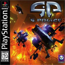 Box cover for G-Police: Weapons of Justice on the Sony Playstation.