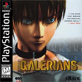 Box cover for Galerians on the Sony Playstation.