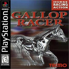 Box cover for Gallop Racer on the Sony Playstation.