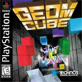 Box cover for Geom Cube on the Sony Playstation.