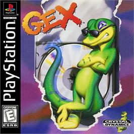Box cover for Gex on the Sony Playstation.