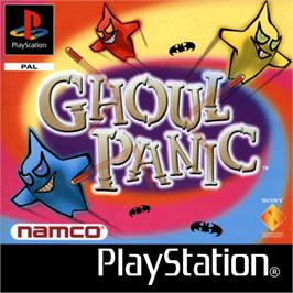 Box cover for Ghoul Panic on the Sony Playstation.