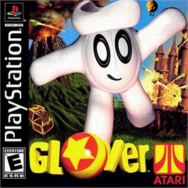 Box cover for Glover on the Sony Playstation.