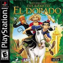 Box cover for Gold and Glory: The Road to El Dorado on the Sony Playstation.