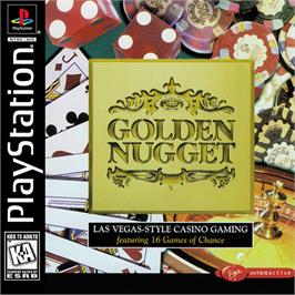 Box cover for Golden Nugget on the Sony Playstation.