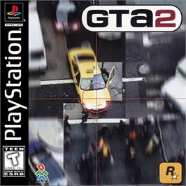 Box cover for Grand Theft Auto 2 on the Sony Playstation.