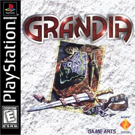 Box cover for Grandia on the Sony Playstation.