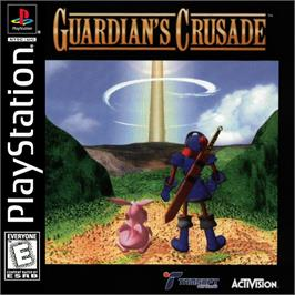 Box cover for Guardian's Crusade on the Sony Playstation.