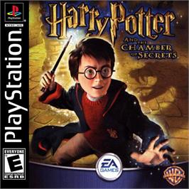 Box cover for Harry Potter and the Chamber of Secrets on the Sony Playstation.