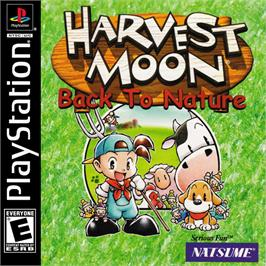 Box cover for Harvest Moon: Back to Nature on the Sony Playstation.