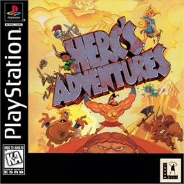 Box cover for Herc's Adventures on the Sony Playstation.