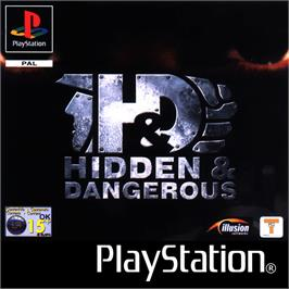 Box cover for Hidden & Dangerous on the Sony Playstation.