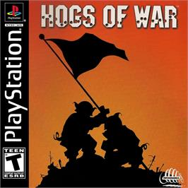 Box cover for Hogs of War on the Sony Playstation.