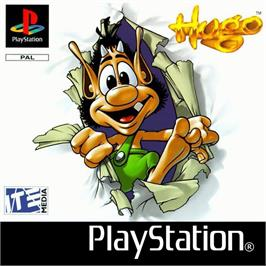 Box cover for Hugo: The Quest for the Sunstones on the Sony Playstation.