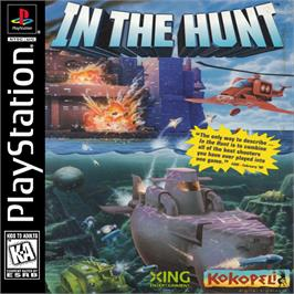 Box cover for In the Hunt on the Sony Playstation.