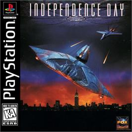 Box cover for Independence Day on the Sony Playstation.
