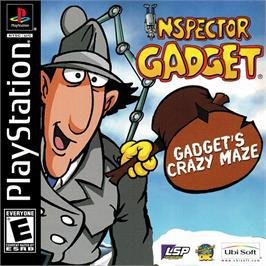 Box cover for Inspector Gadget: Gadget's Crazy Maze on the Sony Playstation.