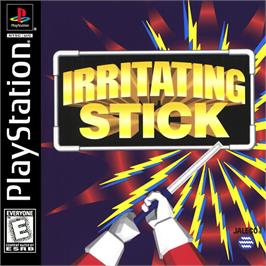 Box cover for Irritating Stick on the Sony Playstation.