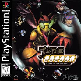 Box cover for Jade Cocoon: Story of the Tamamayu on the Sony Playstation.