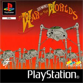 Box cover for Jeff Wayne's The War of the Worlds on the Sony Playstation.