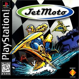 Box cover for Jet Moto on the Sony Playstation.