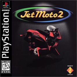 Box cover for Jet Moto 2 on the Sony Playstation.