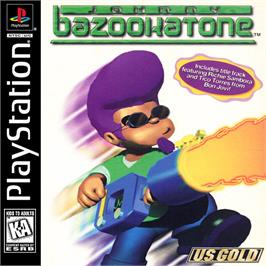 Box cover for Johnny Bazookatone on the Sony Playstation.