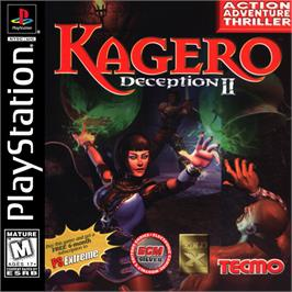 Box cover for Kagero: Deception II on the Sony Playstation.
