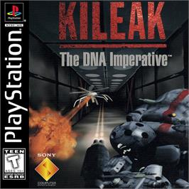 Box cover for Kileak: The DNA Imperative on the Sony Playstation.