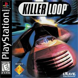 Box cover for Killer Loop on the Sony Playstation.