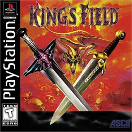 Box cover for King's Field on the Sony Playstation.