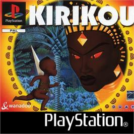 Box cover for Kirikou on the Sony Playstation.