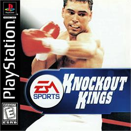 Box cover for Knockout Kings on the Sony Playstation.