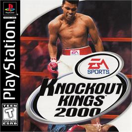 Box cover for Knockout Kings 2000 on the Sony Playstation.