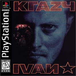 Box cover for Krazy Ivan on the Sony Playstation.