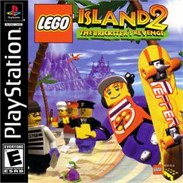 Box cover for LEGO Island 2: The Brickster's Revenge on the Sony Playstation.