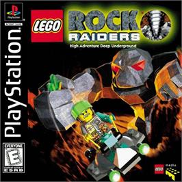 Box cover for LEGO Rock Raiders on the Sony Playstation.
