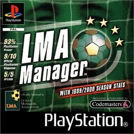 Box cover for LMA Manager on the Sony Playstation.