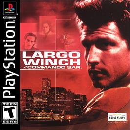 Box cover for Largo Winch .// Commando SAR on the Sony Playstation.