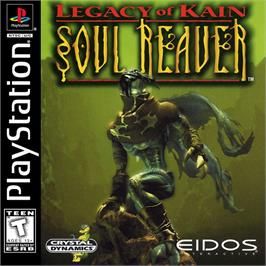 Box cover for Legacy of Kain: Soul Reaver on the Sony Playstation.